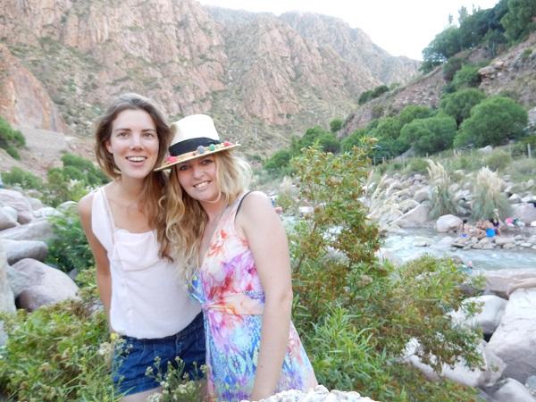 With worldwoman Harmke