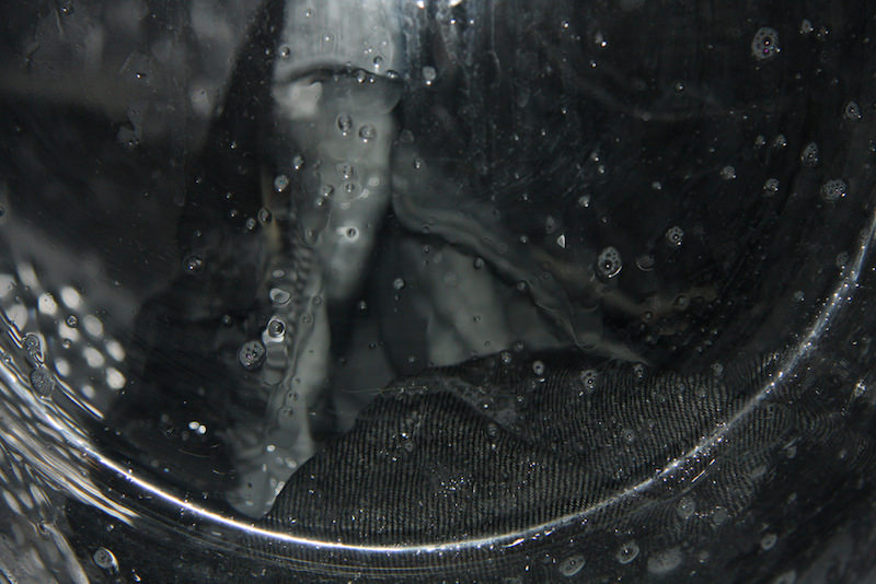 lavage jean machine