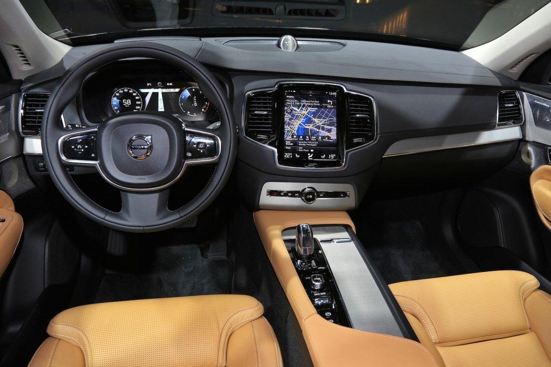 Nouveau Volvo XC90 2014 Stockholm intérieur