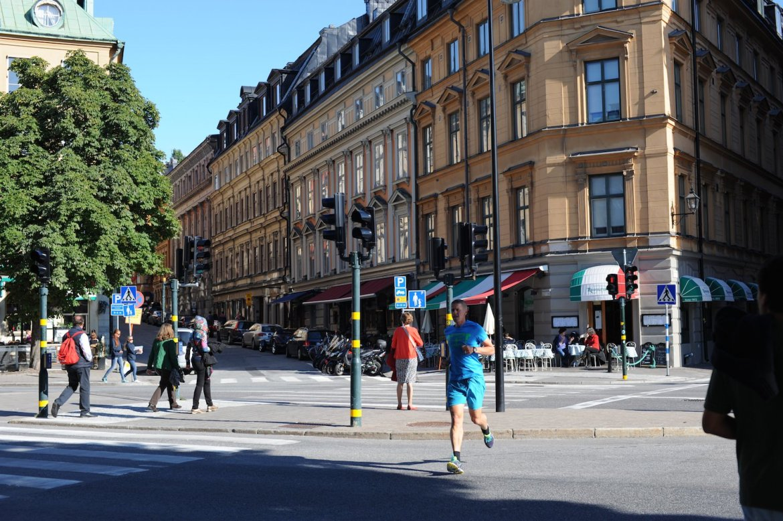 lancement VOLVO XC90 2014 Stockholm ville