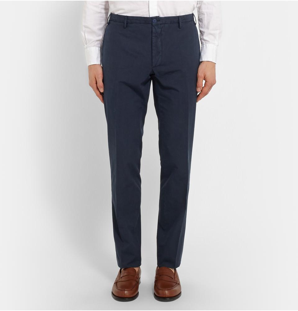 pantalon costume homme coton