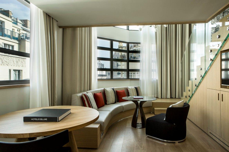 hotel cinq codet Junior Suite Duplex