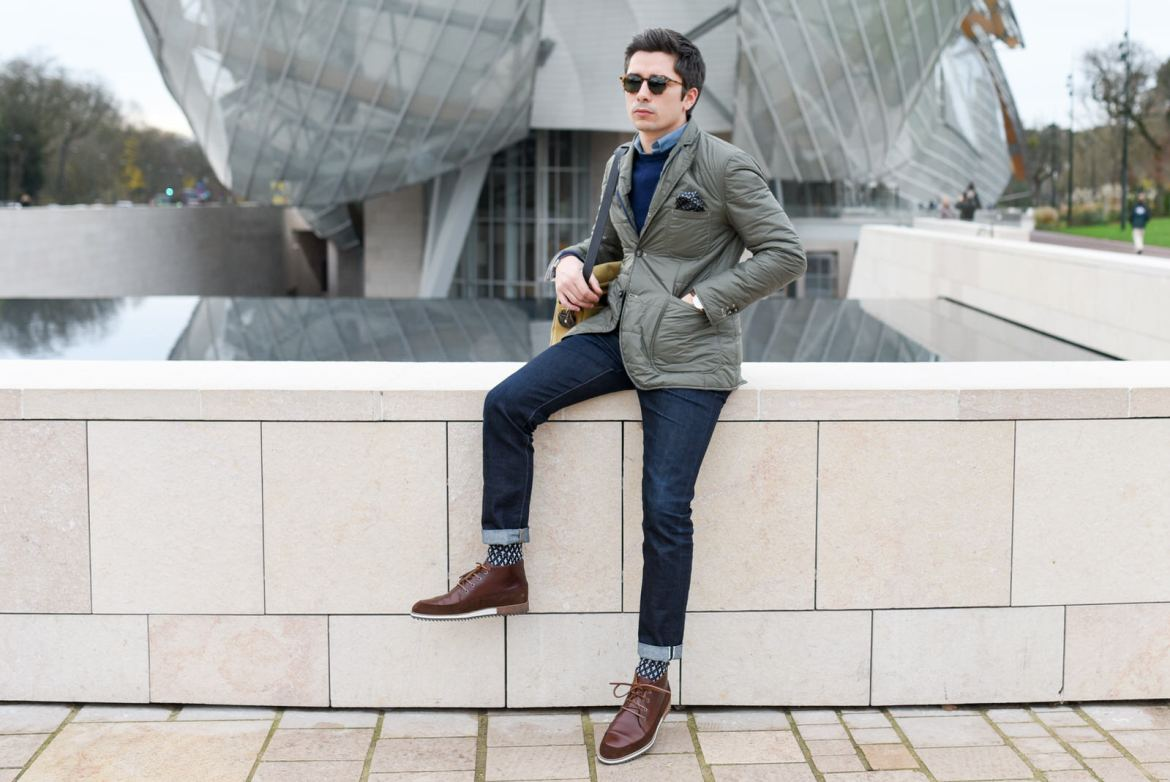 mode homme chic