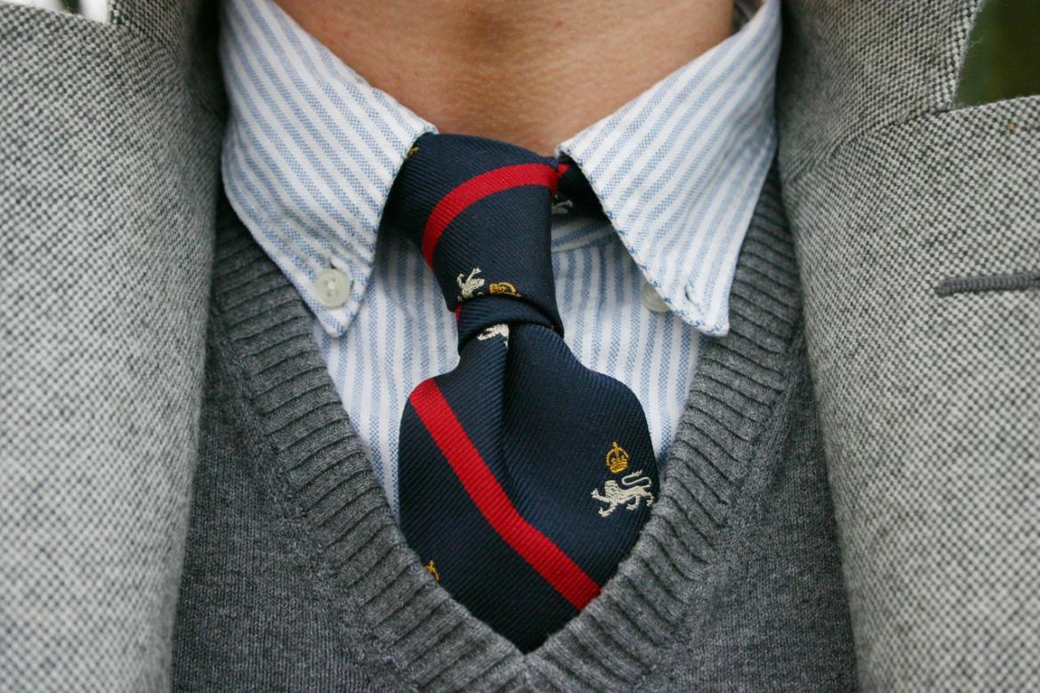 chemise oxford cravate