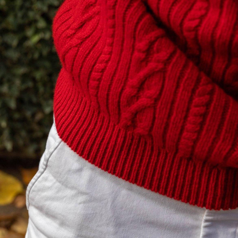 bord cote pull laine