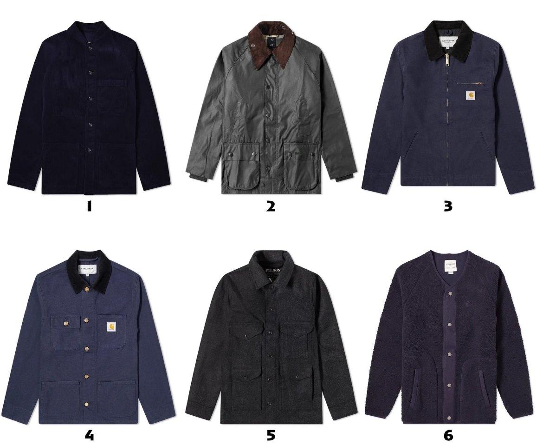 selection de gilets vestes decontractes pour homme
