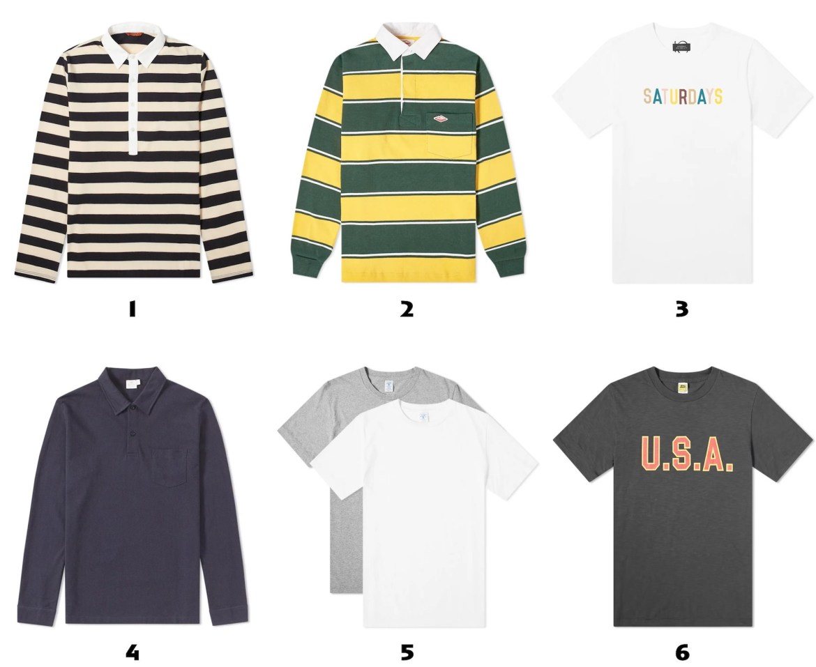 selection tshirts pour homme 2019