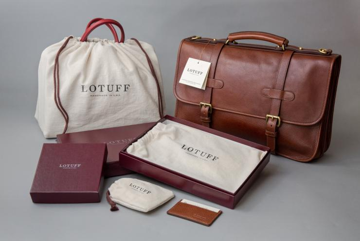 lotuff bag man
