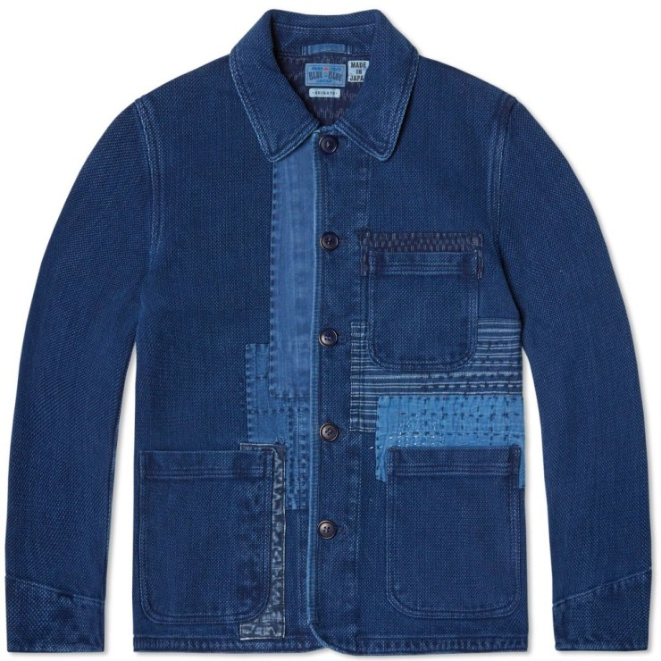 blue blue jacket japan