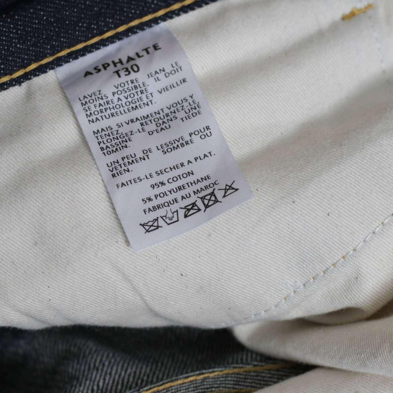 etiquette jean asphalte