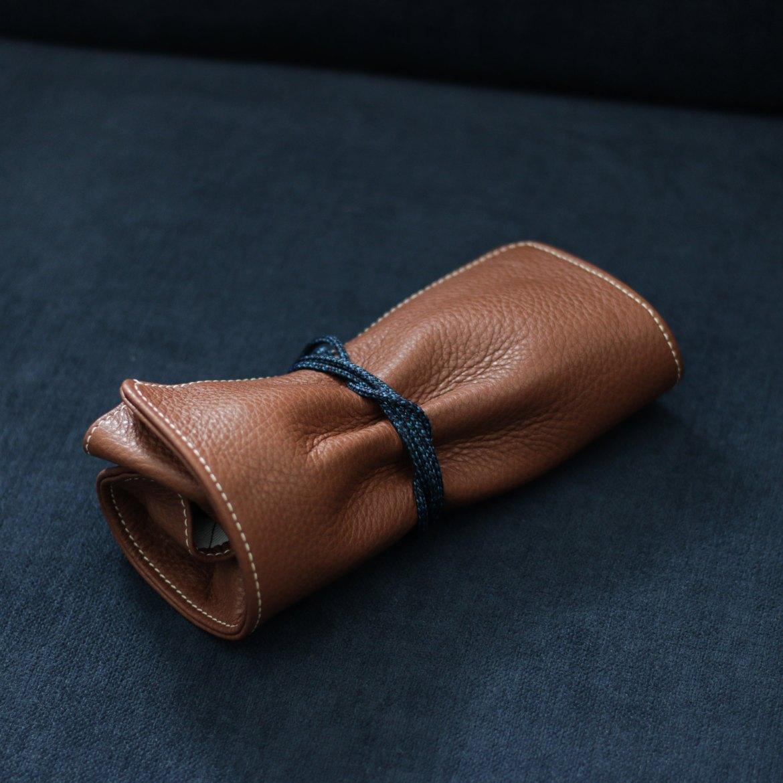 housse transport montre cuir