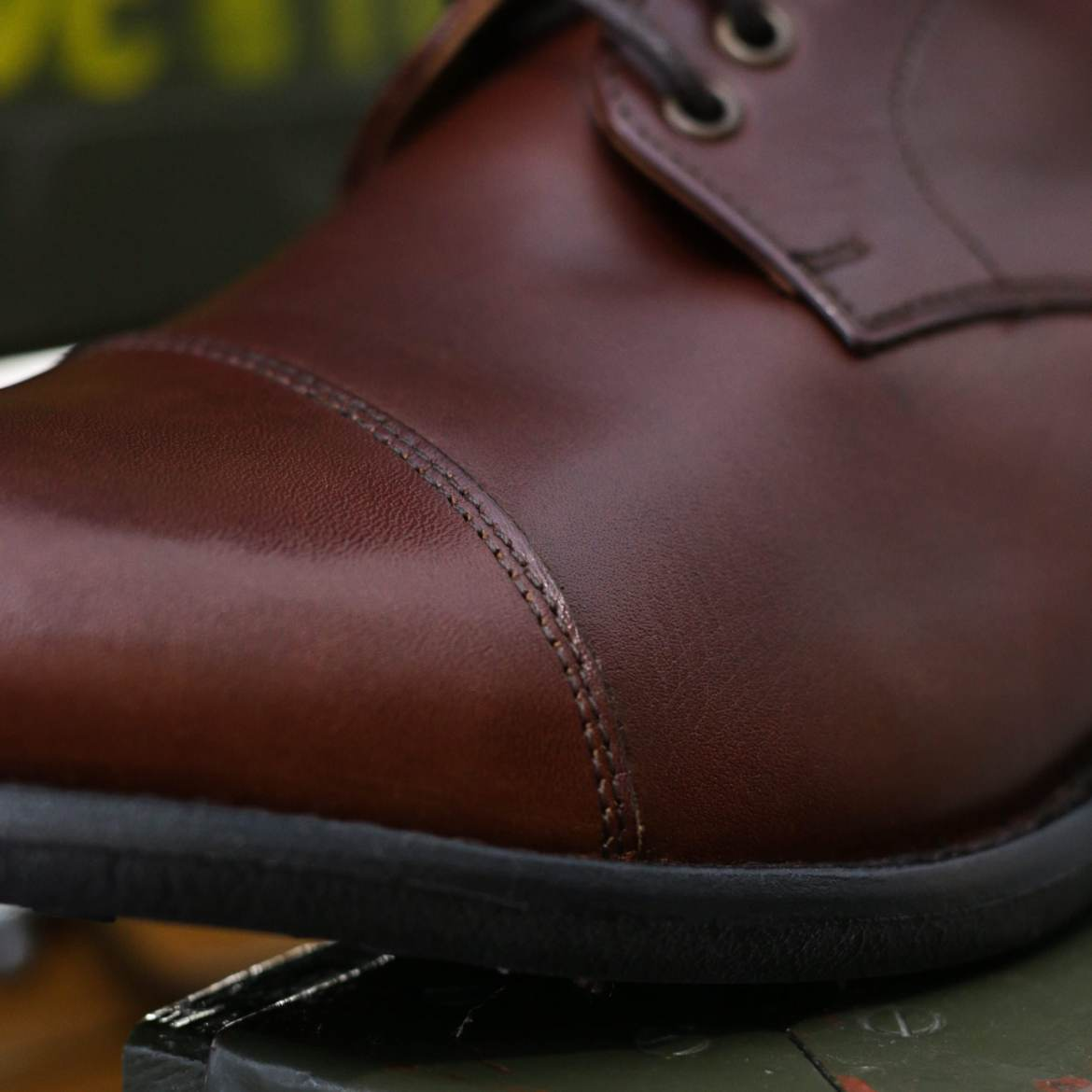 detail cuir british shoes boots