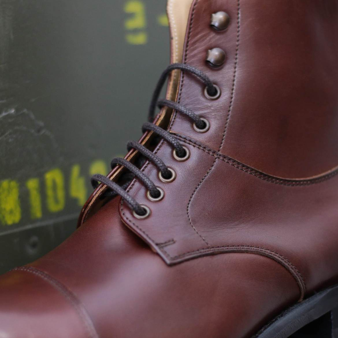 oeillets bottines british shoes boots