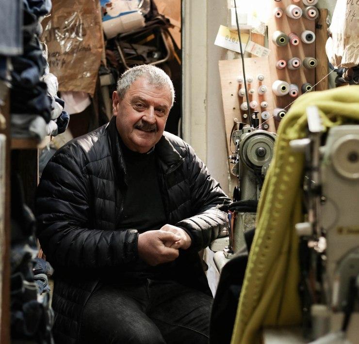 George Cohen Repair Jeans