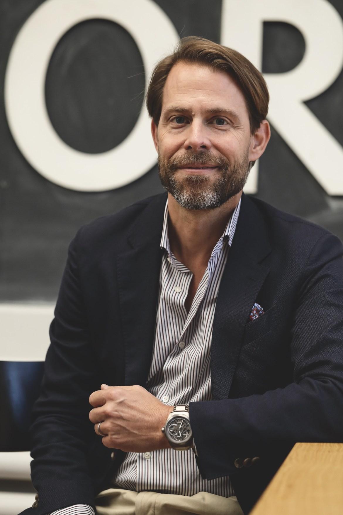 Oris Portrait Rolf Studer, Co-CEO