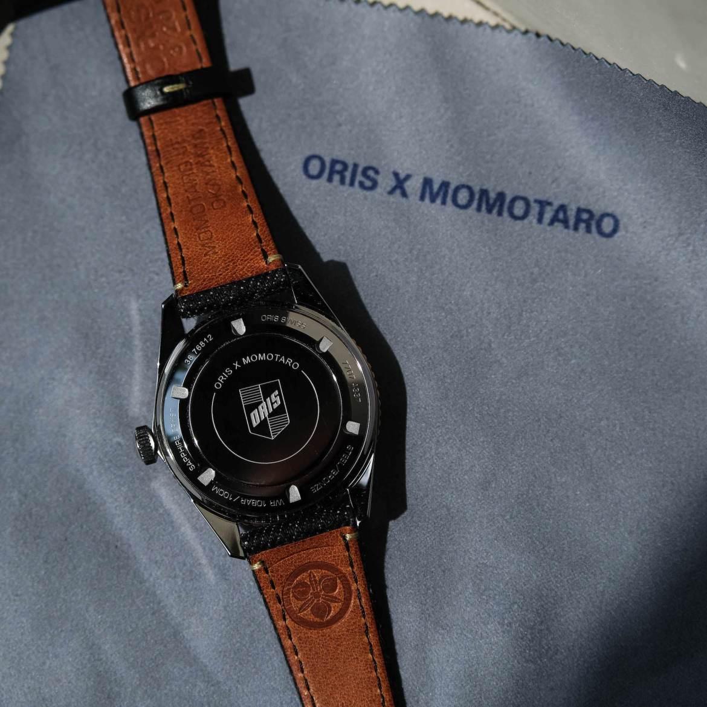 Dos boitier Oris Momotaro