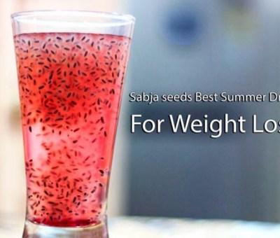 sabja seeds health benefits