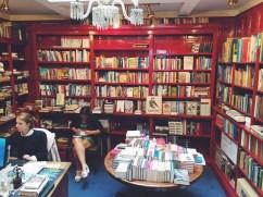 Heywood Hill interior in Mayfair.