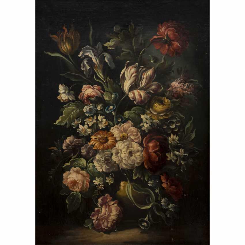 Los 1620 NIEDERLNDISCHER MALER DES 1819JH Blumenvase mit Tulpen aus dem Katalog Kunst