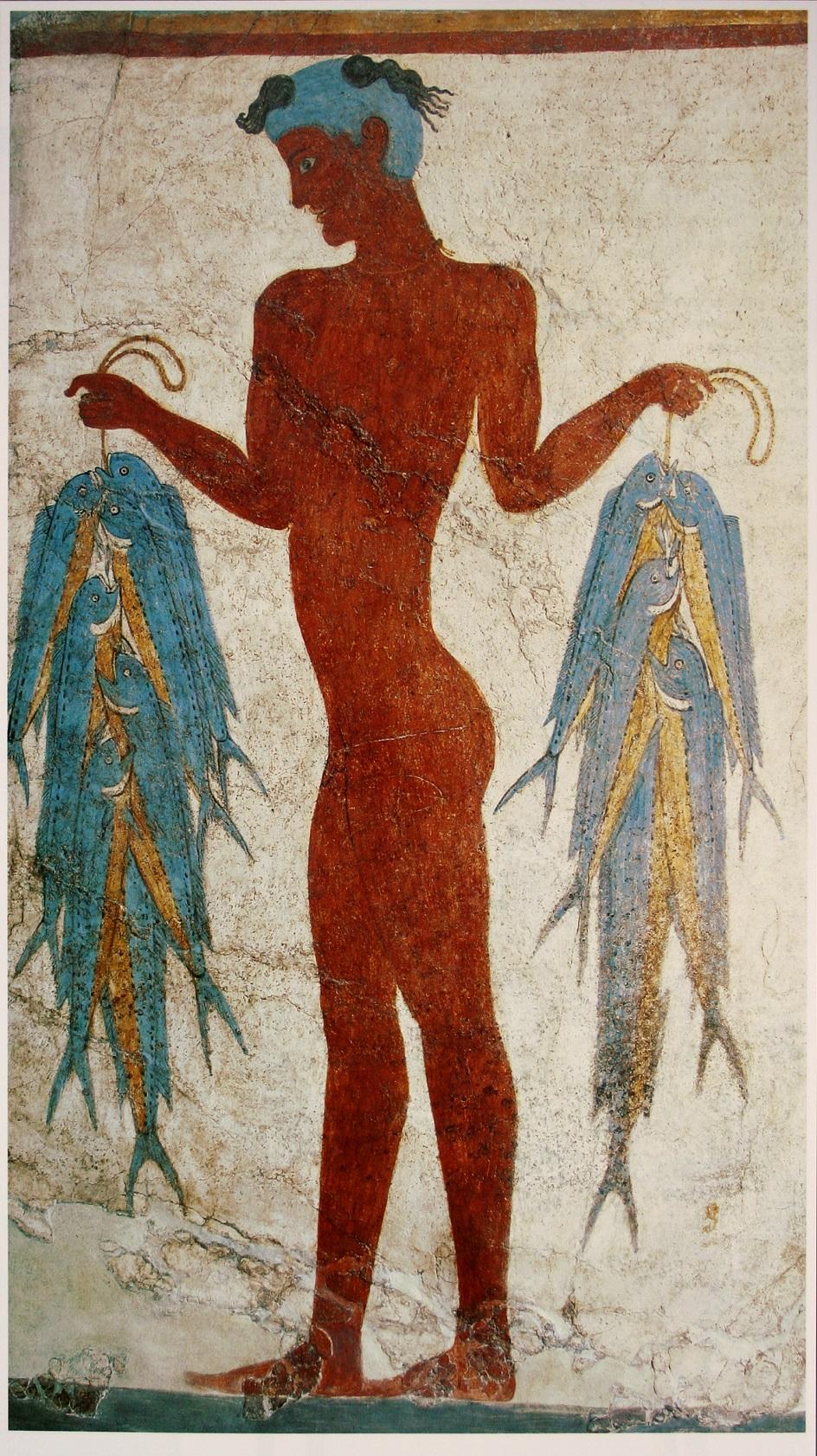 Τοιχογραφία. Η τοιχογραφία ενός υπουργείου πολιτισμού από τη Σαντορίνη. XVII αιώνα π.Χ.