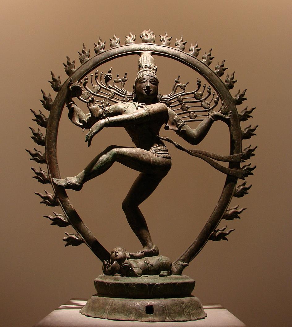 "Escultura. Figurine ""Dancing Shiva"", Xi Século"