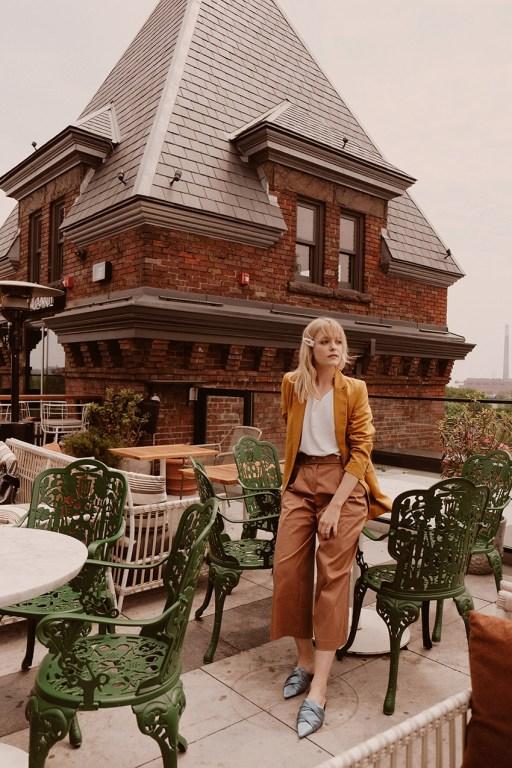 Broadview Hotel terrace  in East Toronto