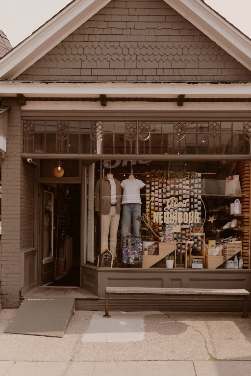 Good Neighbour boutique in East Toronto