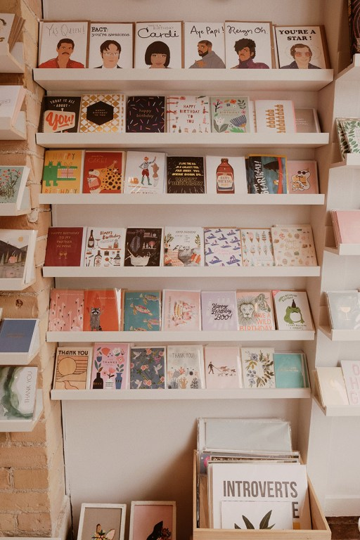 Cards sold at Token Gift Shop in East Toronto