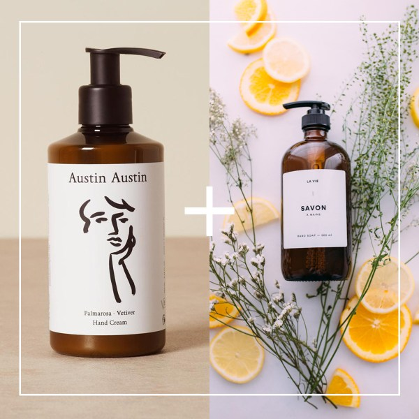 Hand soaps and hand creams to make you feel better