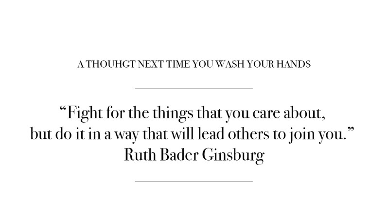 Quote by Ruth Bader Ginsburg