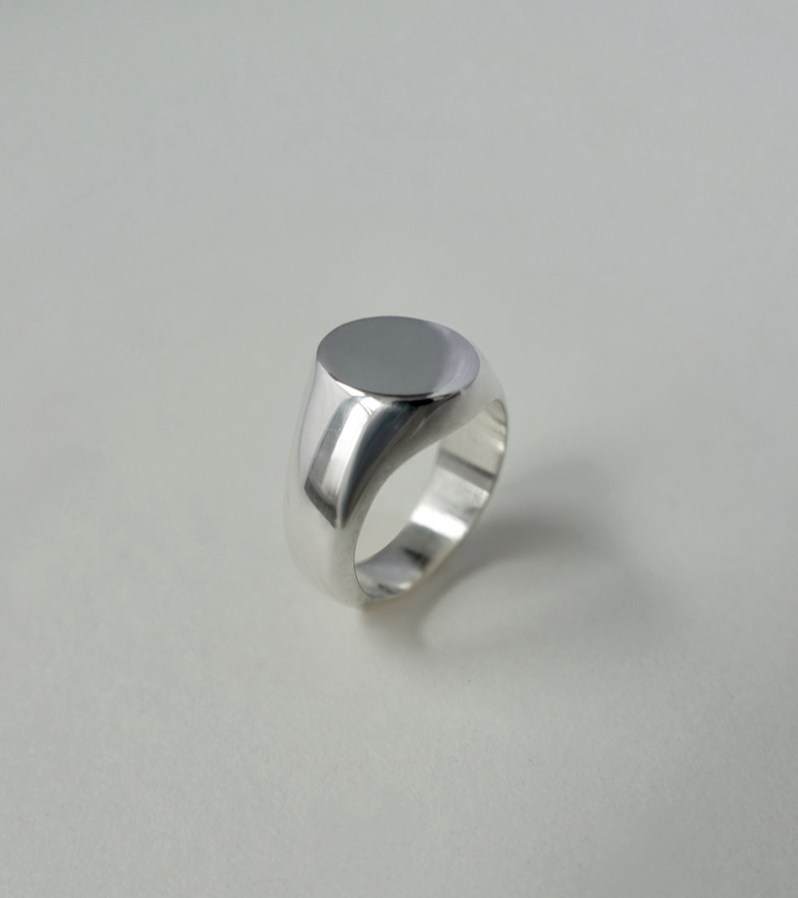 Saskia V. sterling silver ring made in Quebec