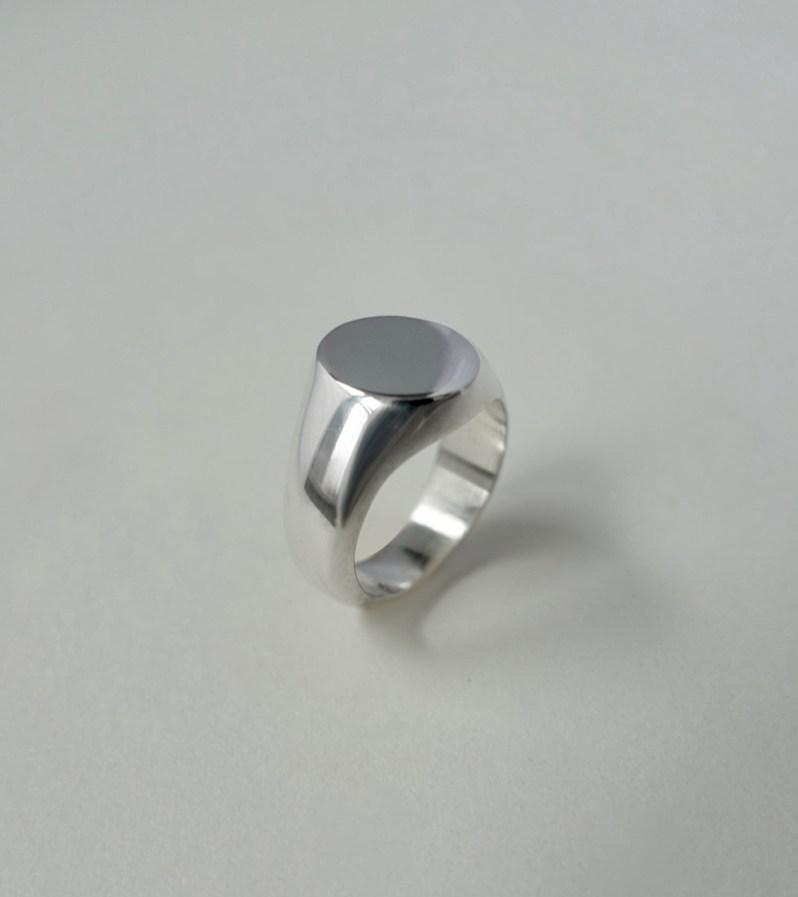 Saskia V. sterling silver ring made in Quebec