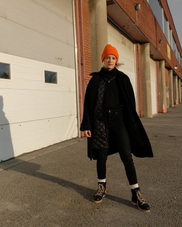Joëlle Paquette is showing how to stay warm and stylish during winter.