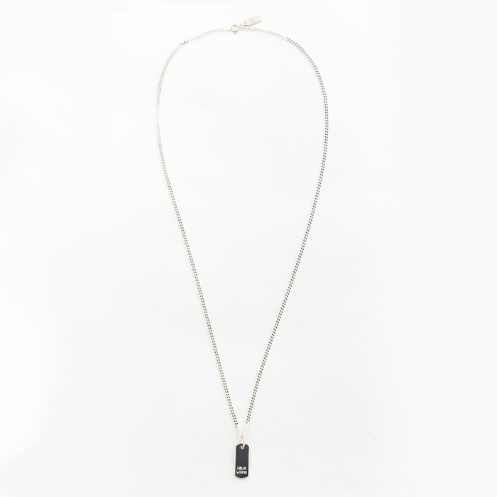 Silver chain necklace by Deux Lions