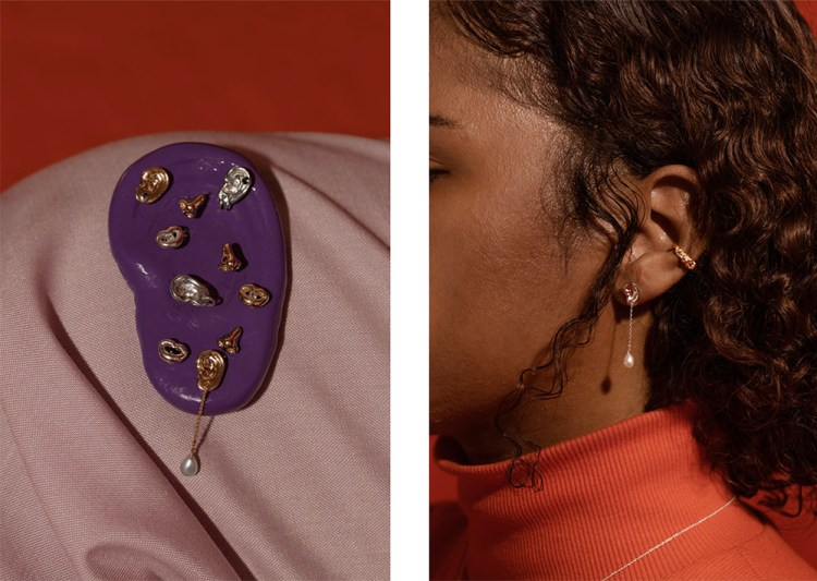 Curio collection by Captve, a Montreal jewellery brand.