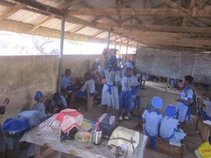 Classtime at AC primary school