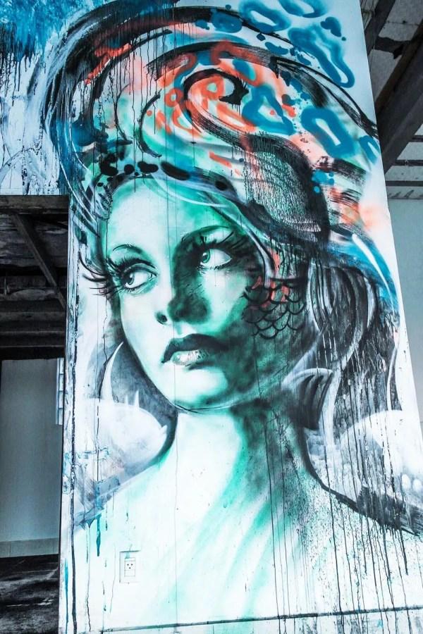 Realistic Street Art Graffiti