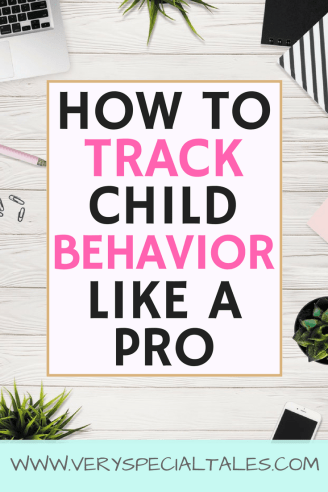 Easily Track Behavior with Behavior Charts like an ABC Chart