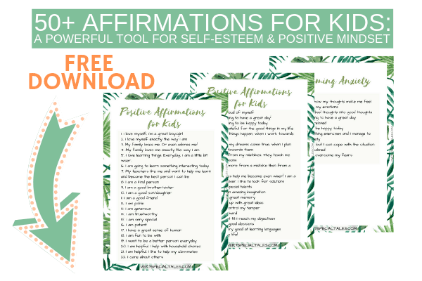 Positive Affirmations for Kids: A Powerful Tool for Self-Esteem