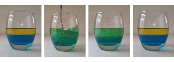 DIY Sensory Bottles with Baby Oil or Vegetable Oil (Easy Water & Oil