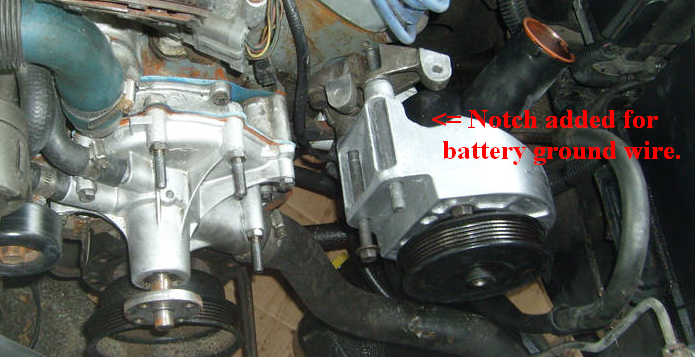 1993 Mustang Fuse Box On Water Pump Bolt Stud Location Ford Mustang Forums