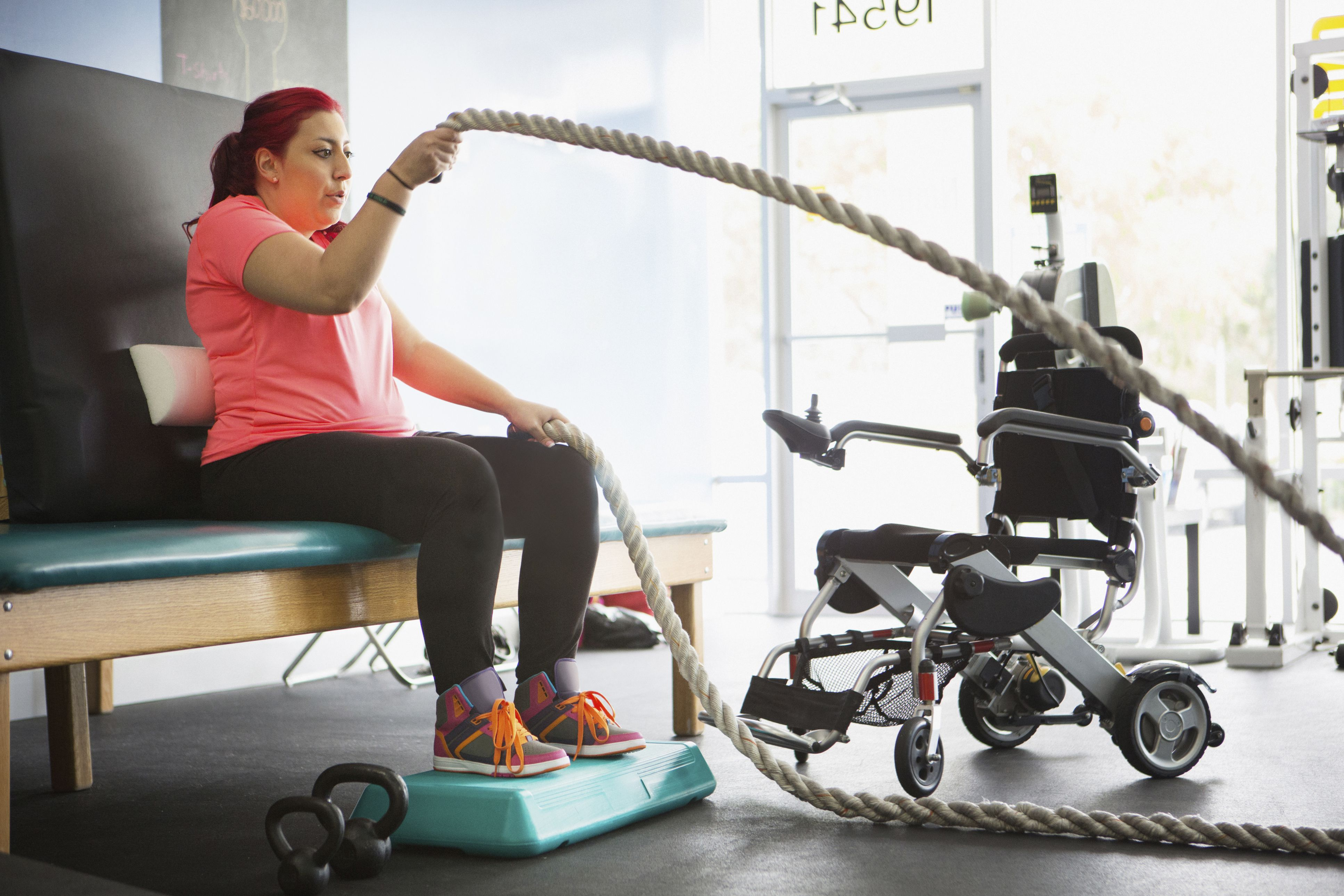 Chair Exercises For Obese No Limits Exercising In A Wheelchair