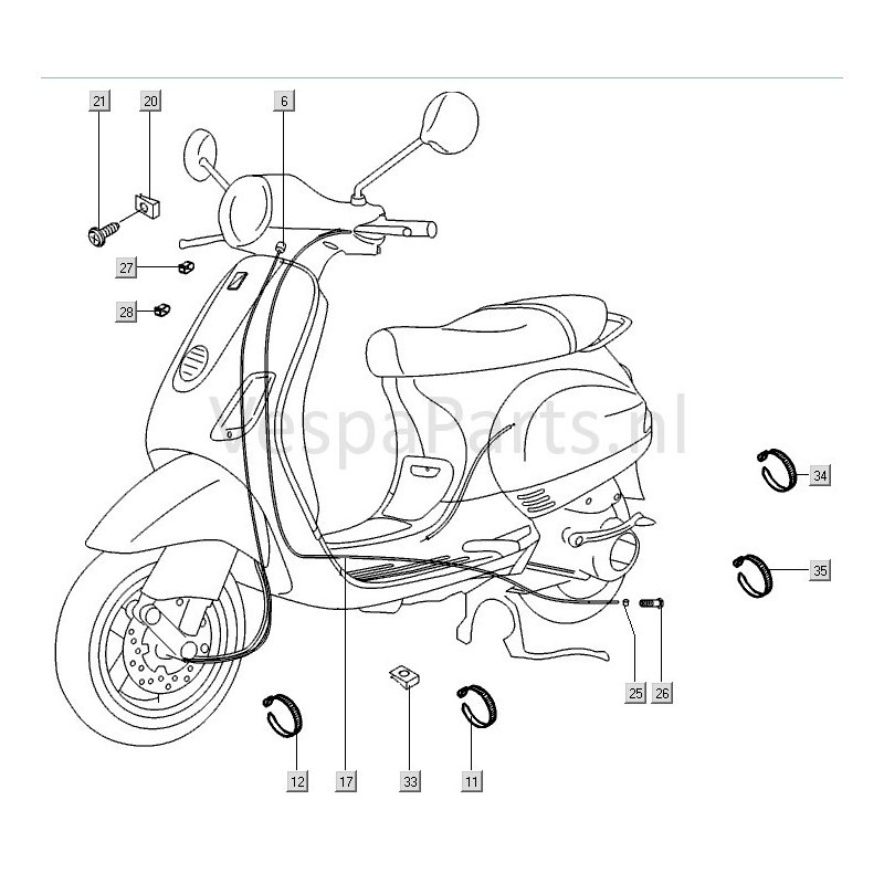 Vespa Et2 Wiring Diagram