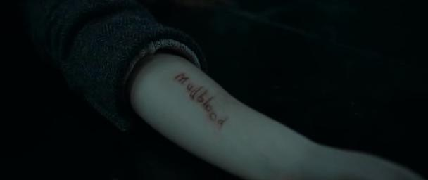 Mudblood_sliced_into_Hermione's_arm_by_Bellatrix_Lestrange.