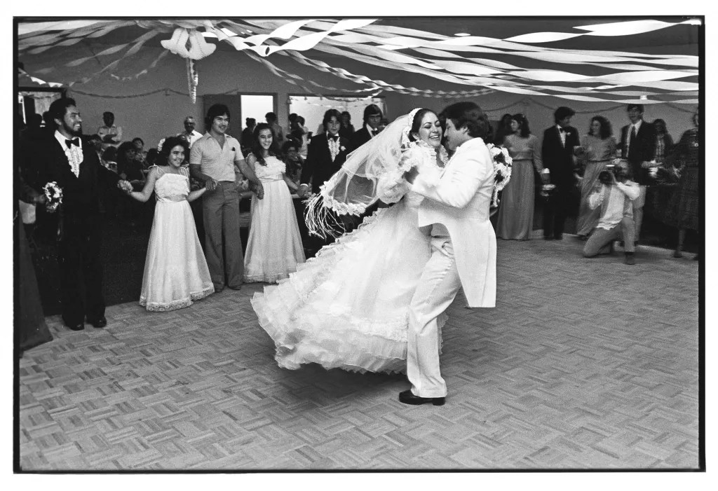 Wedding at Leopoldo's Lounge. Chimayo. 1981. © Kevin Bubriski