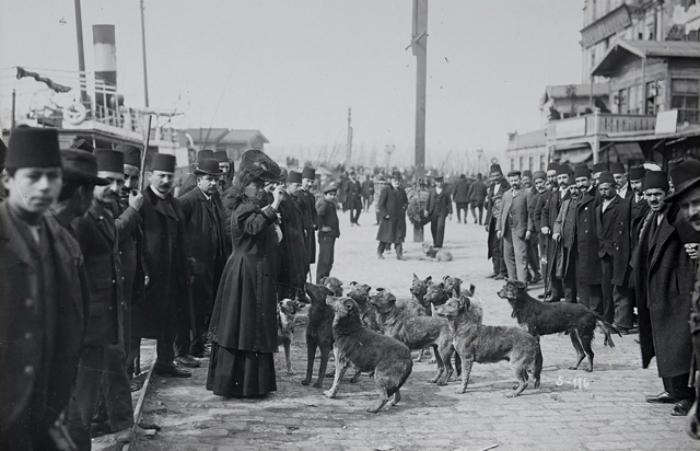 Karaköy, İstanbul. 1910.