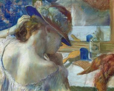Edgar Degas. Aynanın Karşısında, 1989.