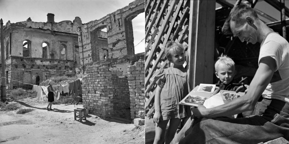 Stalingrad, 1947.Fotoğraf: Robert Capa © Magnum Photos