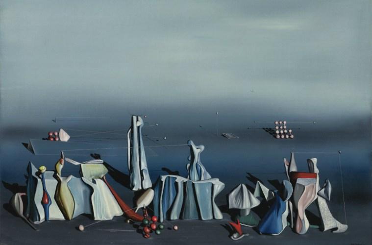 """""""Deux fois du noir"""" (Yves Tanguy, 1941)"""