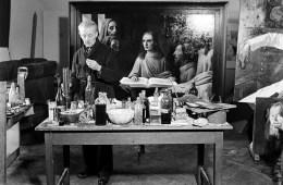 Han van Meegeren. Fotoğraf: Koos Raucamp, 1945.